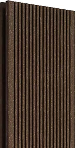 Террасная доска Terradeck Wood Pro M, цвет коричневый